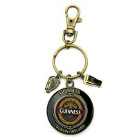 Guinness 'Ruby Red' Classic 1759 Collection Spinner Keyring 5611